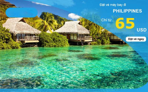 Vé máy bay đi Philipines giá rẻ nhất