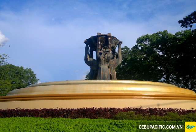 Đài phun nước P'gsalabuk Circle -  Địa điểm nổi bật khi bay đến Dipolog