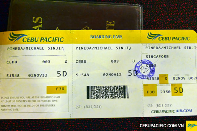 ve may bay cebu pacific gia re