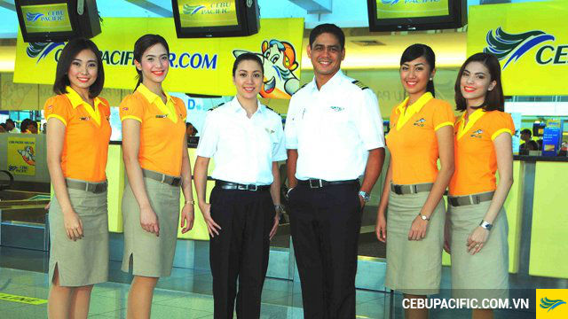 quy định đổi vé máy bay của Cebu Pacific\