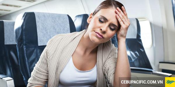 Đi máy bay liệu có bị say không?