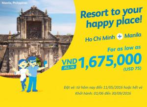 Cebu Pacific: Săn ngay loạt vé siêu rẻ đến Manila