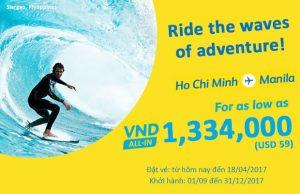 Săn vé giá rẻ Cebu Pacific, thả ga du lịch Manila