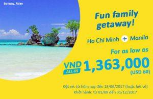 Vi vu hè cùng vé máy bay Cebu Pacific siêu rẻ
