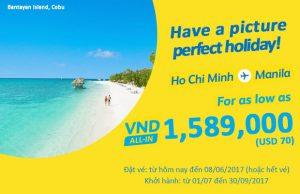 Cebu Pacific khuyến mãi giá sốc chào mùa hè!