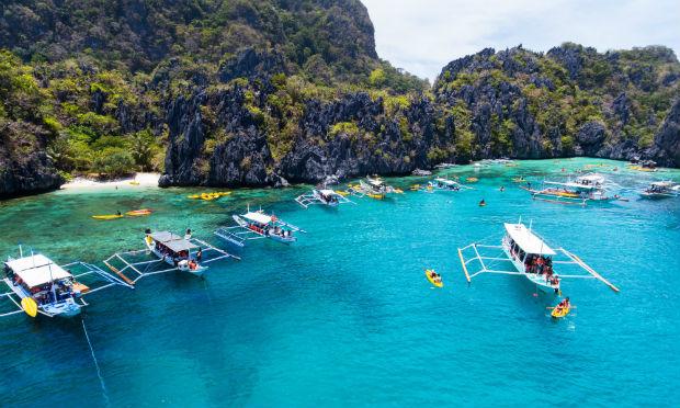 săn vé rẻ tháng 8 đến đảo Palawan