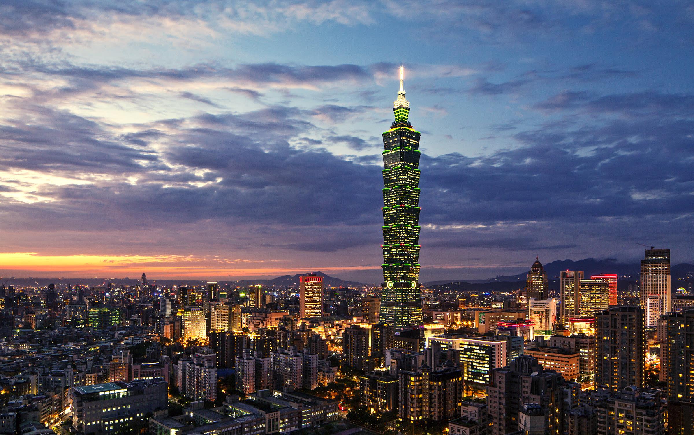 Khung cảnh đẹp ở Đài Bắc