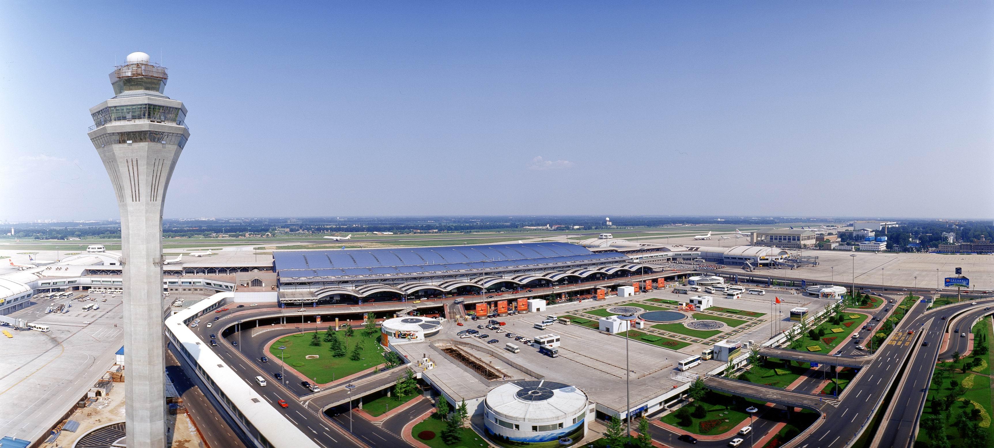Toàn cảnh sân bay Bắc Kinh