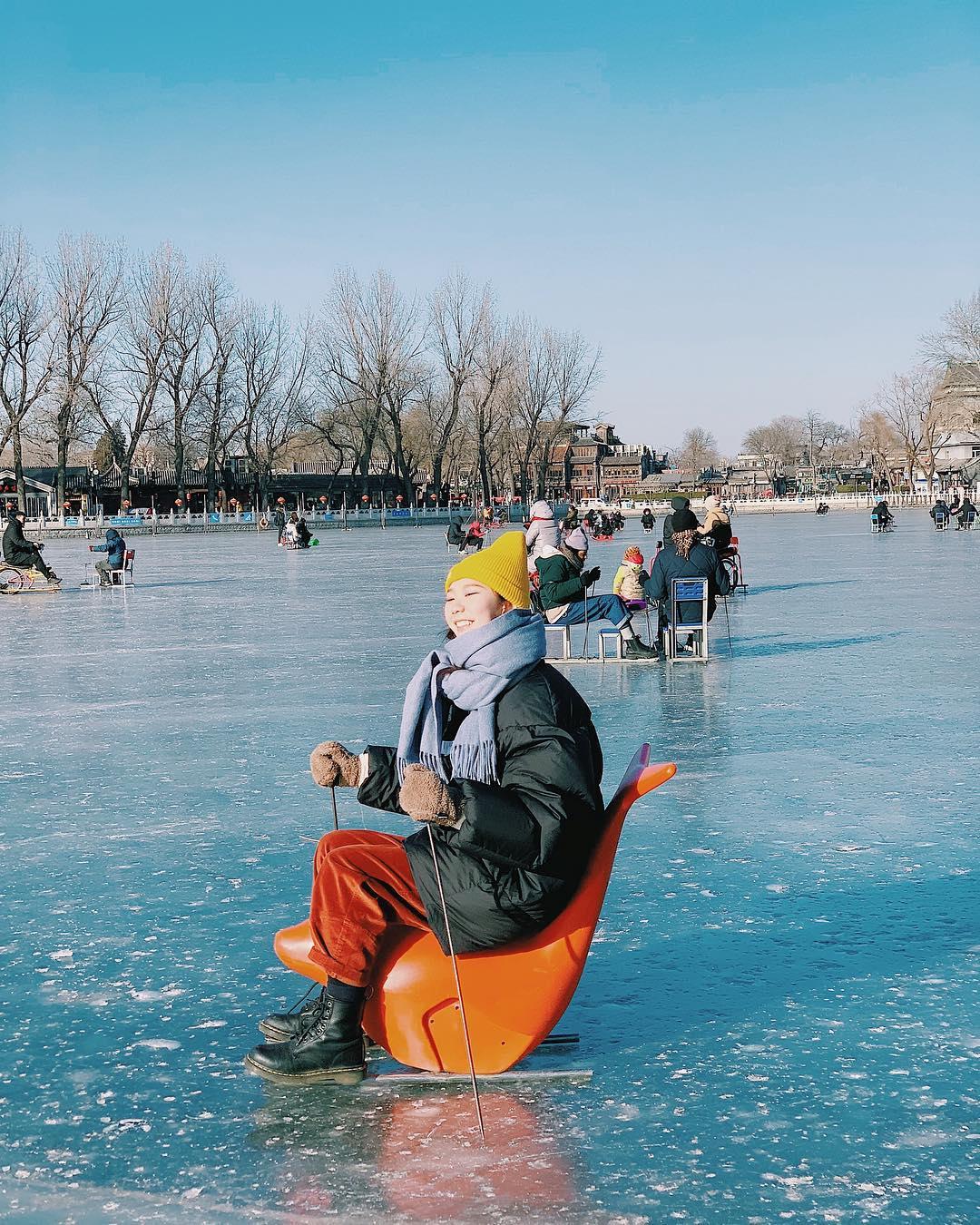 Mùa đông đặc trưng phương Bắc ở Bắc kinh
