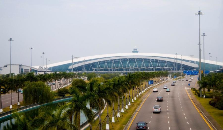 Toàn cảnh sân bay quốc tế Bạch Vân Quảng Châu