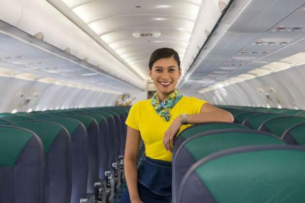 Hạng ghế phổ thông của hãng Cebu Pacific