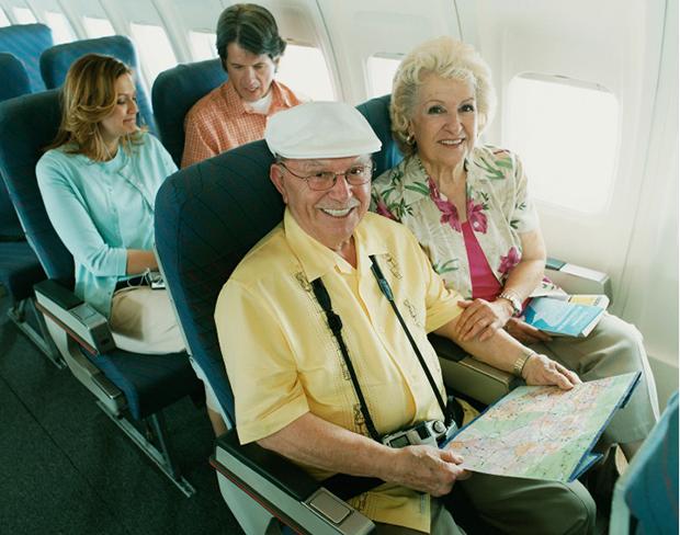 Hành khách cao tuổi và hành khách khuyết tật