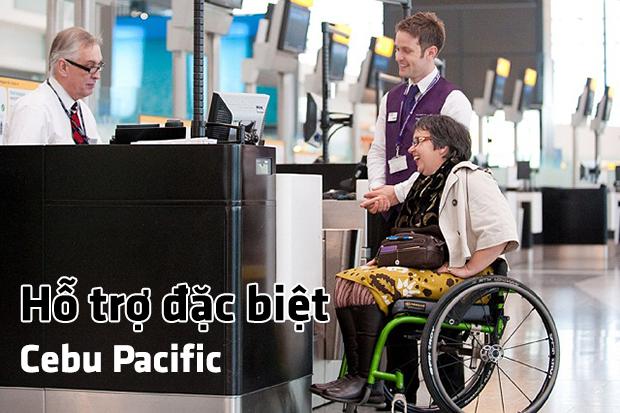 Hỗ trợ đặc biệt Cebu Pacific