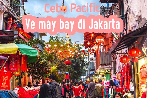 Đặt vé máy bay đi Jakarta giá rẻ