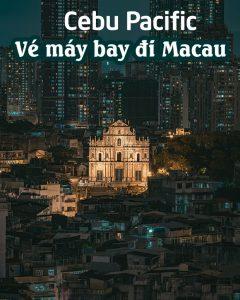 Vé máy bay đi Macau
