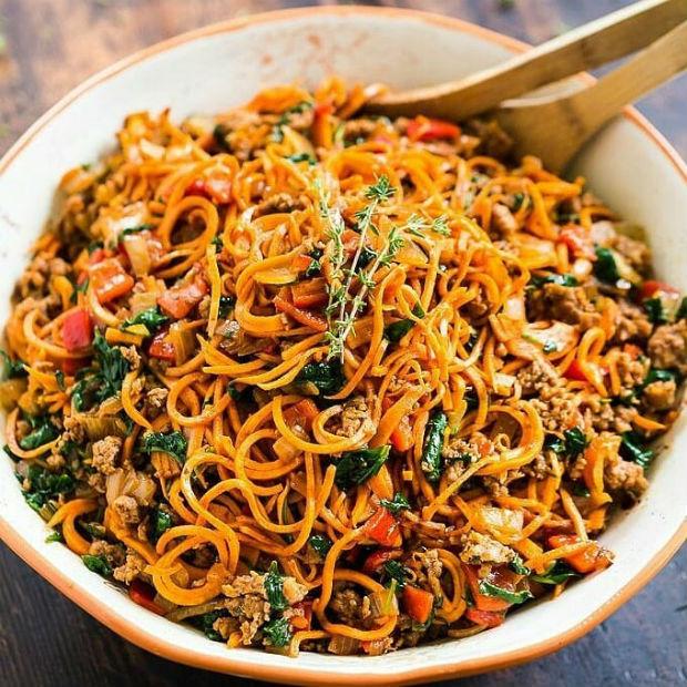 Mì xào Chow Mein, món ăn độc đáo ở Thượng Hải