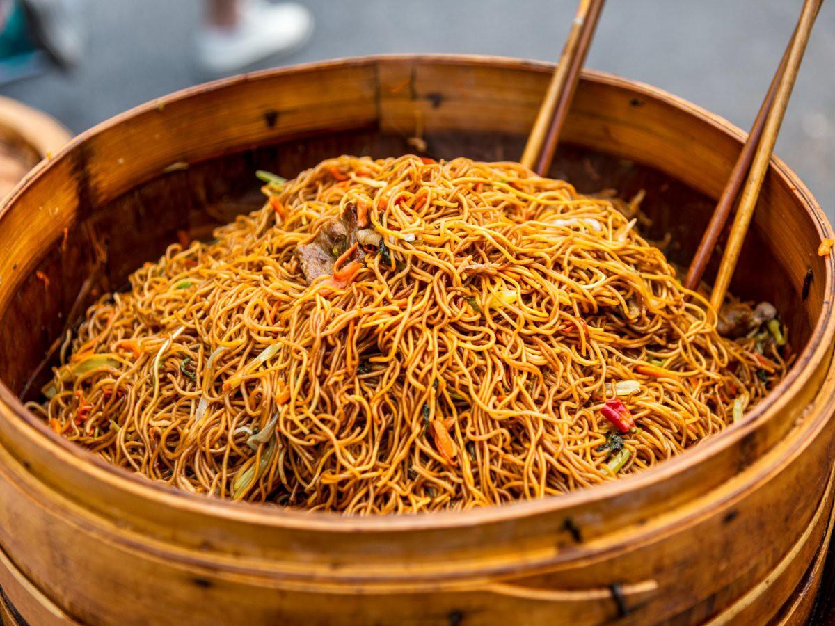 Mì sợi rất nổi tiếng ở Thượng Hải