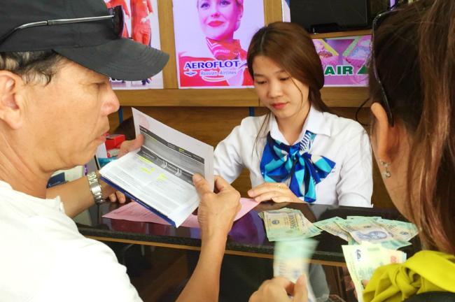Thủ tục sang tên vé máy bay Cebu Pacific