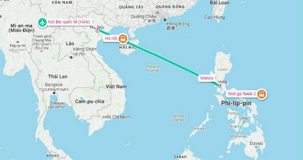 Vé máy bay từ Sài Gòn đi Philippines