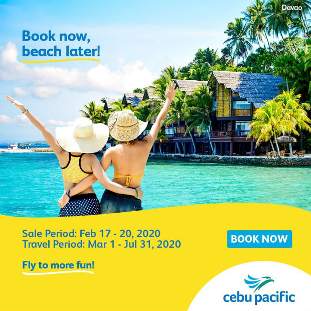 Khuyến mãi Cebu Pacific đến Manila giá cực rẻ từ 20 USD