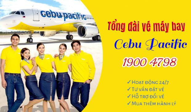 tổng đài vé máy bayCebu Pacific