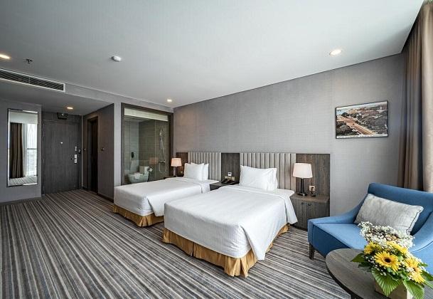 Phòng 2 giường đơn Khách sạn mường thanh luxury sài gòn