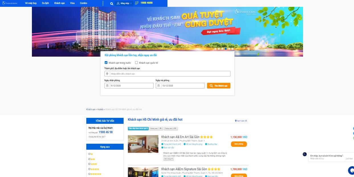 Top 5 trang web đặt phòng khách sạn tốt nhất hiện nay