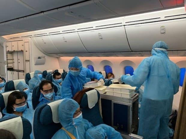 quy định của chuyến bay từ Úc về Việt Nam
