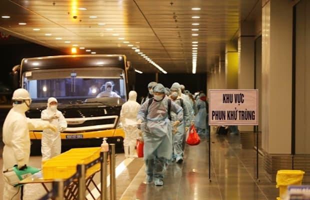 vé máy bay từ Mỹ về Việt Nam tháng 4 cách ly